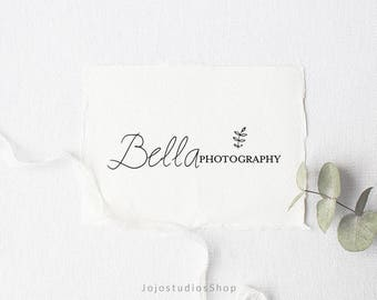 Simple Logo Design, Minimalist Logo, Photography Logo and Watermark, Elegant Logo, Handwritten Logo, Boutique Logos, Premade Logo, L108