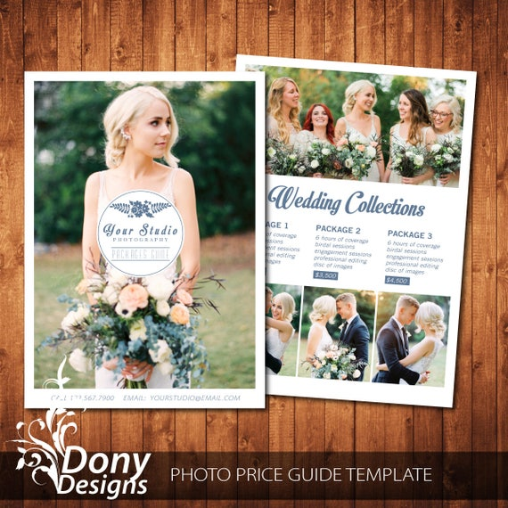 Wedding Photography Guide Pdf: Photography Pricing Template Wedding Pricing Guide Template