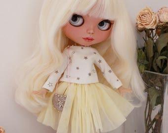 Custom Blythe ooak doll Amy- Sweet, tender girl