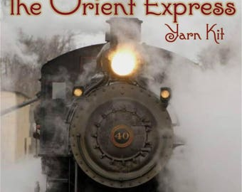 The Orient Express Shawl MKAL Yarn Kit in your choice of sizes and colors