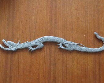 "Rare! 1930's National Aluminum Co. Racine, Wis Advertising Asian Dragon 16 3/4"" Long - Free Shipping"