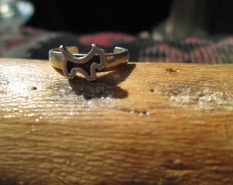 Sterling Scotty Dog Toe Ring