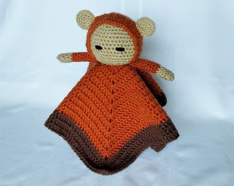 Ewok Inspired Lovey/Security Blanket