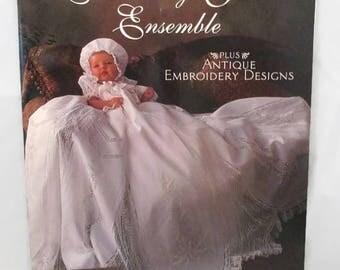 Christening Gown Ensemble Booklet Patterns by Martha Pullen UNCUT
