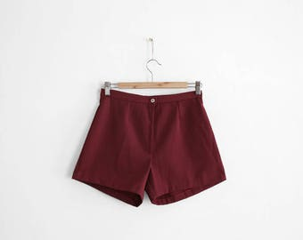 Nos 1960s High waisted shorts - Made in France