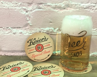 S/4 Kaier's Beer Coasters