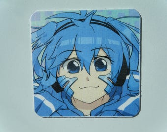 Ene Locker Magnet, Ene from Kagerou Project Refrigerator Magnet, Takane Enomoto Fridgie, Kagerou Project Decor, Heat Haze Daze Fan Art