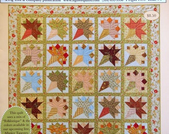 Fresh Vintage Fig Tree Patterns & Style Issue #4 Quilting Pattern Leaflet 2007