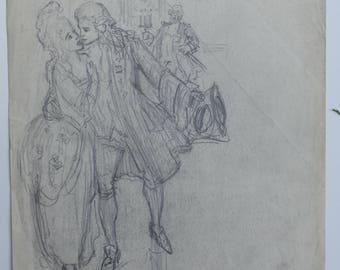 Charles Waltensperger Sketch