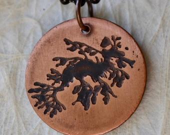 Leafy Seadragon Pendant Lasts