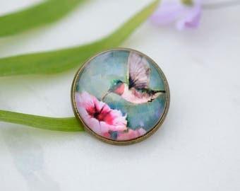 Hummingbird Brooch, Hummingbird Pin