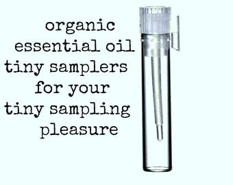 Essential Oil Samples | Organic Essential Oils | Pure Essential Oils | Aromatherapy Oil | Natural Perfume | Aromatherapy Oils