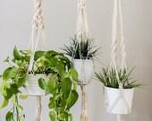 MACRAME plant hanger, Plant Hanger, Plant holder, Macrame hanger, Macrame