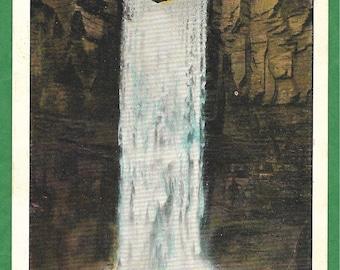 Vintage Postcard - Beautiful Taughannock Falls, Taughannock Falls State Park, Ithaca, New York  (3357)