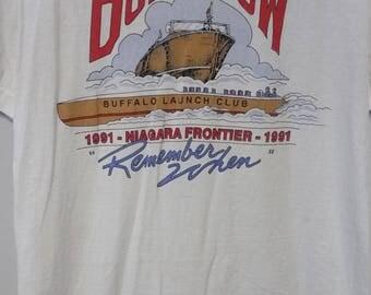 Vintage Buffalo Boat Show Tshirt