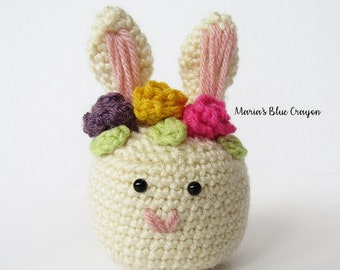 CROCHET PATTERN - Easter Bunny Amigurumi - PDF Digital File Download