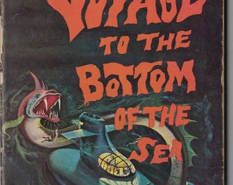 1961 Voyage to the Bottom of the Sea by Theodore Sturgeon ~~ FREE SHIPPING in the USA!