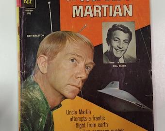 Gold Key Comics My Favorite Martian # 7 April 1966 Vintage TV Tie-In Comic Book