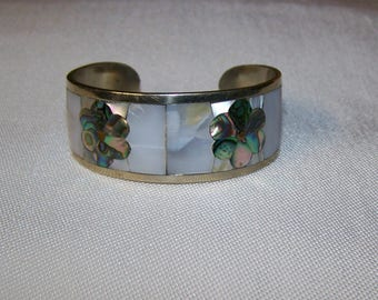 Mother of Pearl & Abalone Bracelet