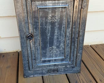 Antique Tin Bread Pantry Pie Safe