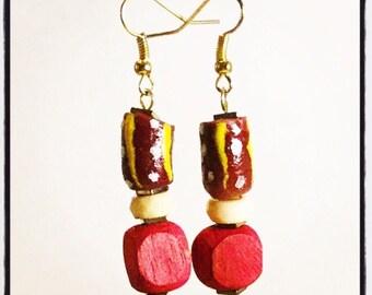 drop earrings || the ROOI