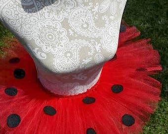 Ladybug Tutu, Lady Bug Tutu, Lady Bug, Birthday Tutu, Cake Smash Tutu, Lady Bug Birthday, Lady Bug Costume, Halloween Costume, Tutu, Skirt