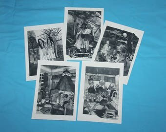 Inktober Prints - Original Art