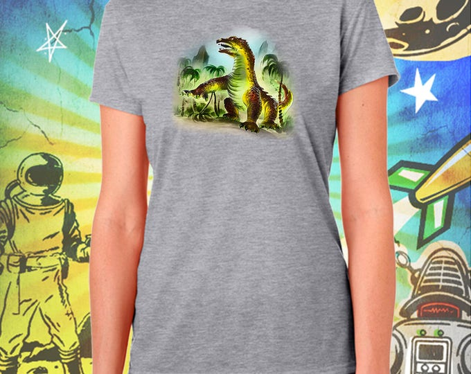 Classic Monsters / Beast From 20000 Fathoms / Ray Harryhausen / Women's Performance Gray T-Shirt