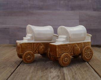 Stagecoach Salt and Pepper Shaker Set - Artmark - Japan