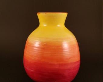 Sun layered Vase