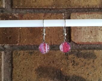 Fluid Painting Earrings - Wearable Art