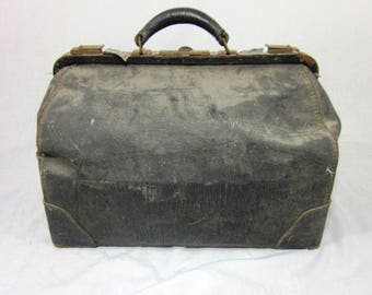 Genuine 1910s Antique Doctor's Bag