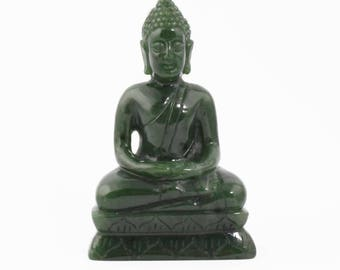 Canadian Nephrite Jade Buddha, Thai
