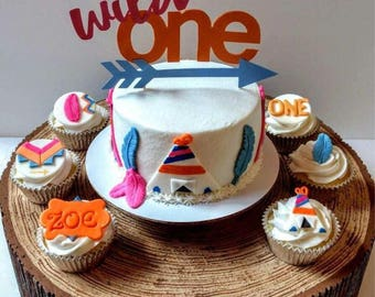 Wild One Birthday Cake Topper