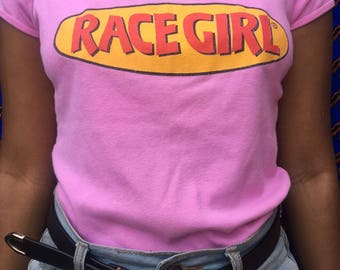 90s Race Girl Tshirt