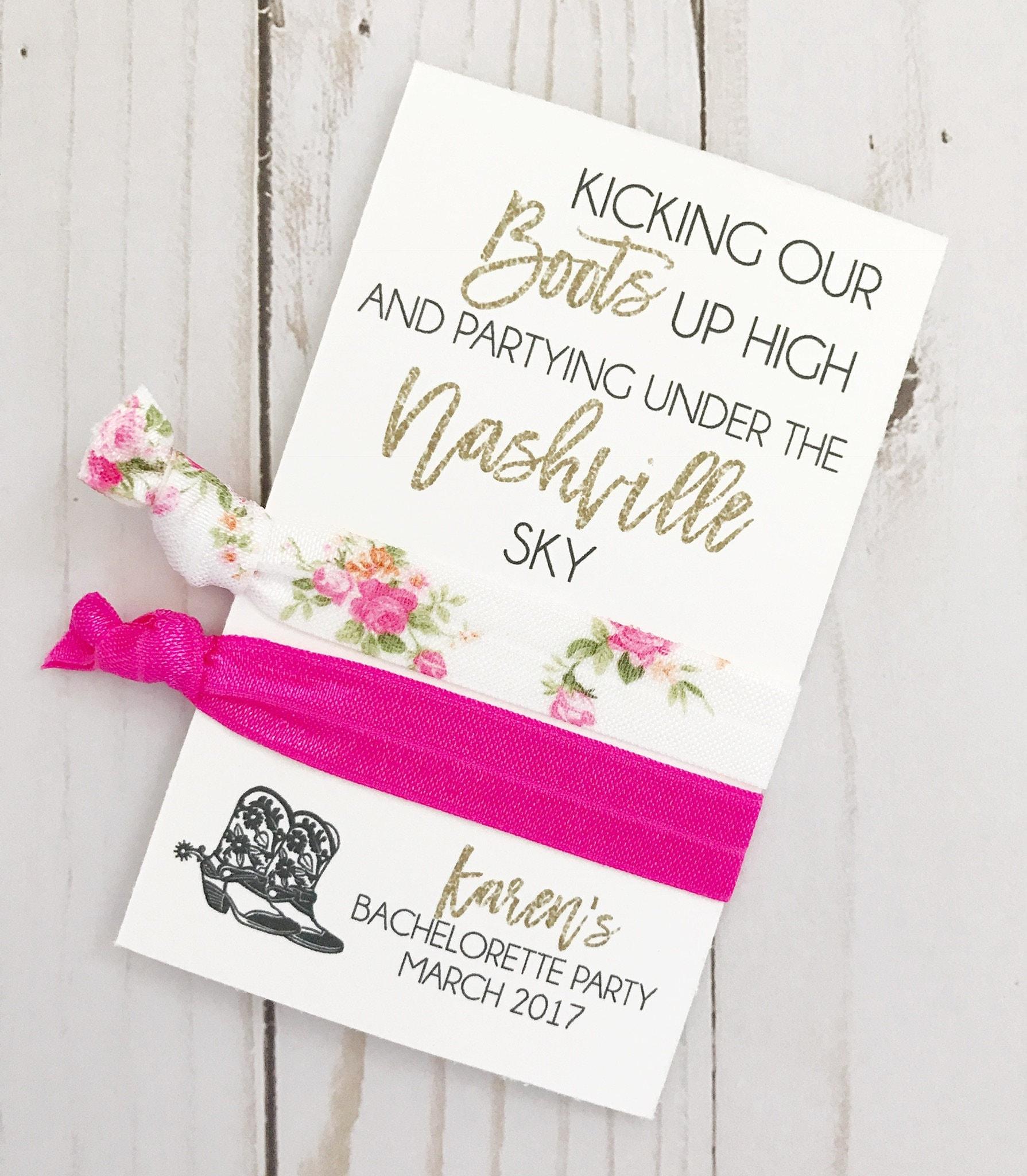 Nashville Bachelorette Bachelorette Party Favors Bridal