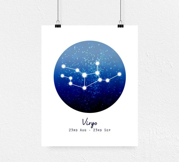 Virgo Print