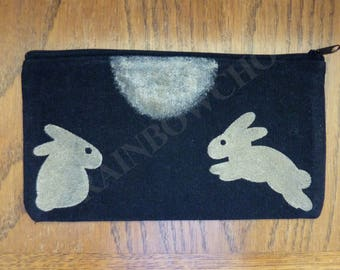 Pencil case Usagi: bunnies in the Moonlight