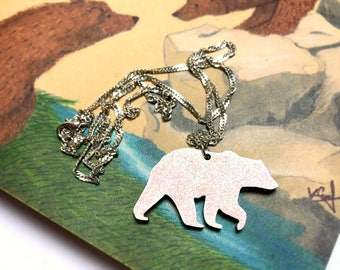 Polar bear necklace, for small gifts