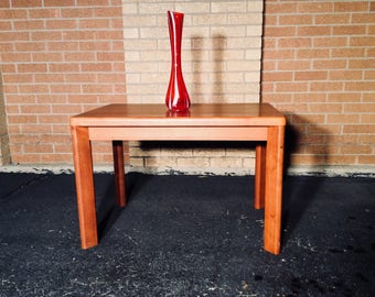 Danish Teak End Table
