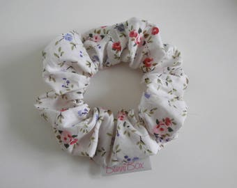 Light Floral Scrunchie