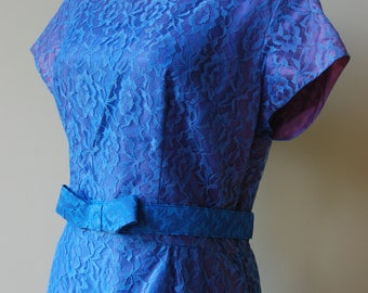 1950s/1960s Blue Lace Dress