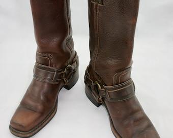 Vintage Women's Frye Harness Boots