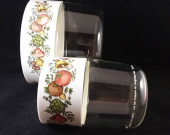 Pyrex Spice 'O Life See-N-Store Containers  Set of 2