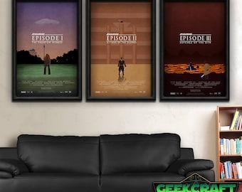 Star Wars Art - Episodes I-III Print Set