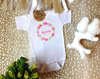 Personalized,  Monogram, Cute Baby Clothes, Trendy Baby, Trendy Baby Gifts, Boho Baby Clothes, Hipster Baby Clothes, Unique Baby Clothes