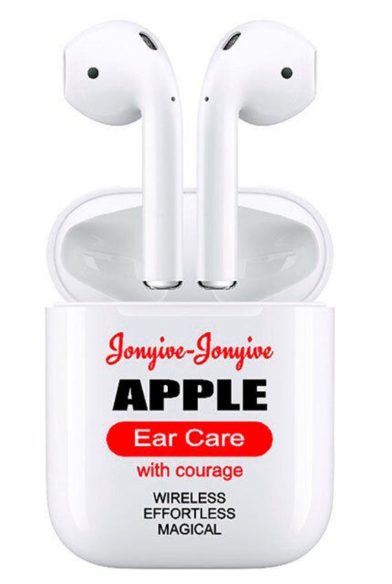 Parody Floss Sticker For Your Airpods Charging Case Earphones