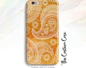 Paisley on Wood Phone Case, Boho Chic Paisley in Wood Phone Case, Paisley Phone Case, Iphone X case, iphone 8 case, Iphone 8 plus, Note 8