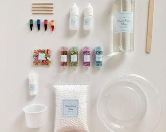 DIY Clear Slime Kit with Instructions