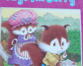 An All New Happy Ending Book - Chippy says I'm Sorry - Children's Picture Story Book